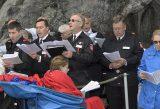 2013 Lourdes Pilgrimage - SATURDAY TRI MASS GROTTO (88/140)