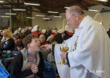 2013 Lourdes Pilgrimage - FRIDAY Anointing and Mass - Salle de Notre Dame (37/88)