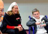 2013 Lourdes Pilgrimage - FRIDAY Fr Dunn - Children (29/33)