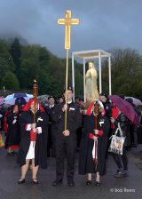 2013 Lourdes Pilgrimage - FRIDAY PM Candlelight procession (14/64)