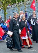 2013 Lourdes Pilgrimage - SATURDAY Procession Benediction Pius Pius (5/44)