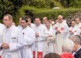 2013 Lourdes Pilgrimage - SATURDAY Procession Benediction Pius Pius (7/44)