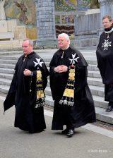 2013 Lourdes Pilgrimage - SATURDAY Procession Benediction Pius Pius (11/44)