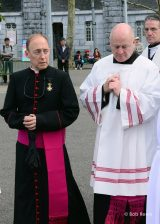 2013 Lourdes Pilgrimage - SATURDAY Procession Benediction Pius Pius (12/44)