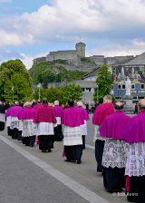 2013 Lourdes Pilgrimage - SATURDAY Procession Benediction Pius Pius (13/44)