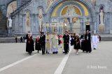 2013 Lourdes Pilgrimage - SATURDAY Procession Benediction Pius Pius (15/44)