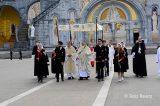 2013 Lourdes Pilgrimage - SATURDAY Procession Benediction Pius Pius (17/44)
