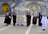2013 Lourdes Pilgrimage - SATURDAY Procession Benediction Pius Pius (18/44)