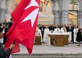2013 Lourdes Pilgrimage - SATURDAY Procession Benediction Pius Pius (26/44)