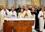 2013 Lourdes Pilgrimage - SATURDAY Procession Benediction Pius Pius (27/44)