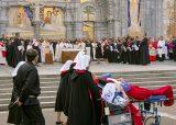 2013 Lourdes Pilgrimage - SATURDAY Procession Benediction Pius Pius (28/44)