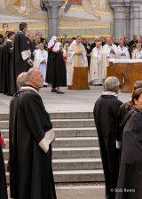 2013 Lourdes Pilgrimage - SATURDAY Procession Benediction Pius Pius (29/44)