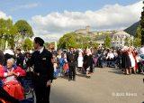 2013 Lourdes Pilgrimage - SATURDAY Procession Benediction Pius Pius (32/44)