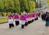 2013 Lourdes Pilgrimage - SATURDAY Procession Benediction Pius Pius (35/44)