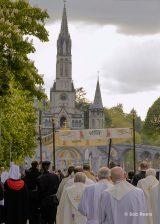 2013 Lourdes Pilgrimage - SATURDAY Procession Benediction Pius Pius (36/44)