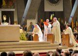 2013 Lourdes Pilgrimage - SATURDAY Procession Benediction Pius Pius (38/44)
