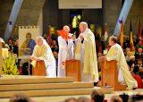 2013 Lourdes Pilgrimage - SATURDAY Procession Benediction Pius Pius (39/44)