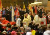 2013 Lourdes Pilgrimage - SATURDAY Procession Benediction Pius Pius (40/44)