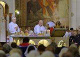 2013 Lourdes Pilgrimage - THURSDAY Rosary Basilica Mass - Tri-Association (12/16)