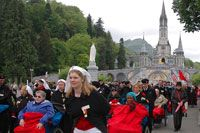 Auxiliary in Lourdes
